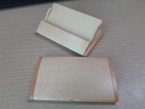 hộp đựng namecard gỗ